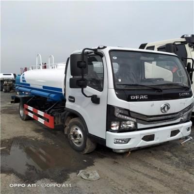 园林绿化5吨小型洒水车东风多利卡D6喷洒车价格