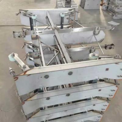羊场刮粪机 刮粪机转角轮 畜牧清粪设备一拖二计米器转角轮