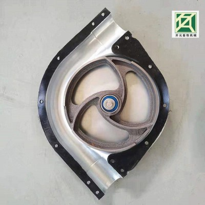 养猪设备 镀锌板转角轮 铸铝合金转角 90度转角轮厂家直销