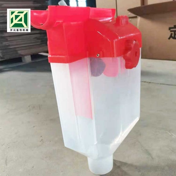 母猪饲养定量杯 母猪自动喂料设备 经久耐用 畜牧设备