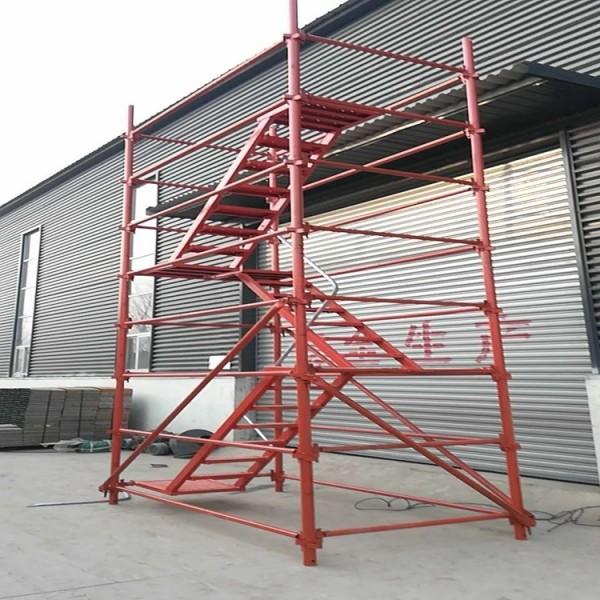 高墩施工爬梯 之字施工爬梯 工地施工爬梯