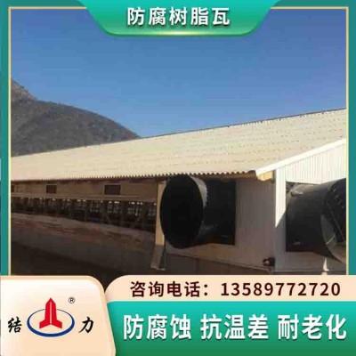塑钢树脂瓦 山西临汾asa防腐板 墙体防腐板满足不同厂房需求