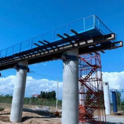 箱体盖梁平台 桥梁施工平台 盖梁封顶