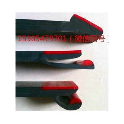导料槽防溢裙板  双层复合防溢裙板