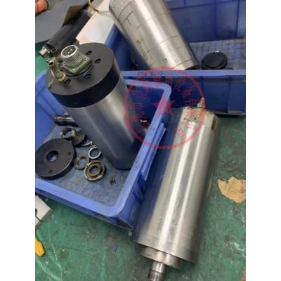 电主轴锥孔维修,有异响换轴承 打刀 锥孔修复