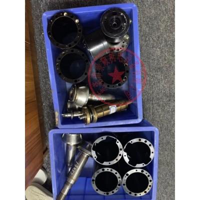 德玛格注塑机电主轴维修,有异响换轴承 打刀 锥孔修复