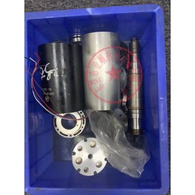 伊之密注塑机电主轴维修,有异响换轴承 打刀 锥孔修复