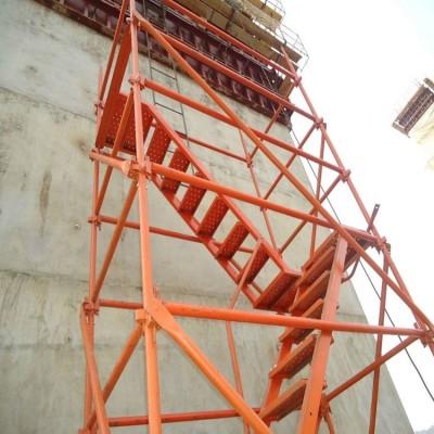 工地施工爬梯 房屋修建爬梯 框架式爬梯
